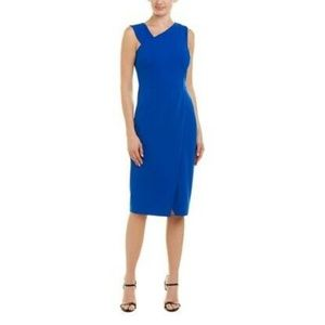 Brand New Rachel Roy Cobalt Blue Midi Dress